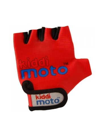 Gants Kiddimoto RED / ROUGE pour draisienne - Taille M (4 à 7 ans)