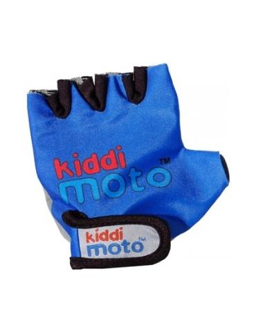 Gants Kiddimoto BLUE / BLEU pour draisienne - Taille M (4 à 7 ans)