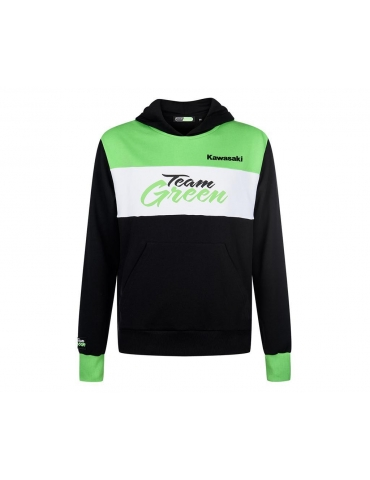 Sweat à capuche Enfant Team Green Kawasaki