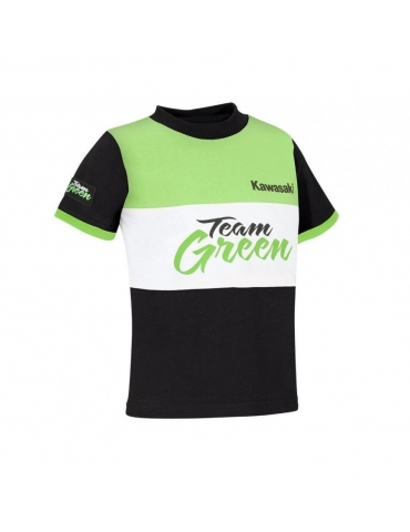 T-Shirt Enfant Team Green Kawasaki