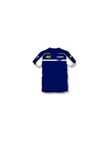 T-shirt enfant Yamaha bleu Vr46