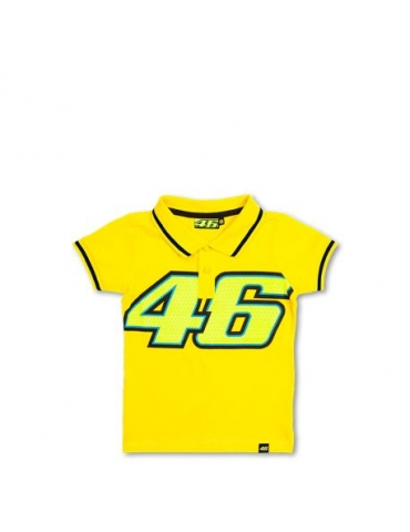 Polo enfant Kid Yellow Vr46