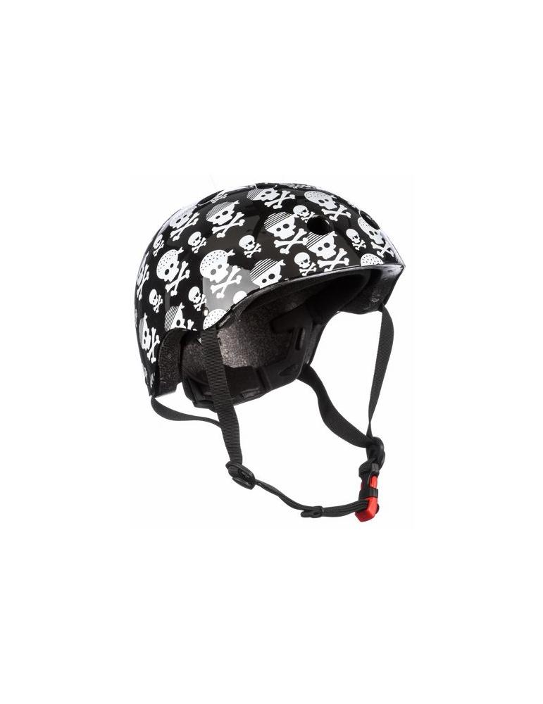Casque Kiddimoto Tête de Mort pour draisienne vélo skate
