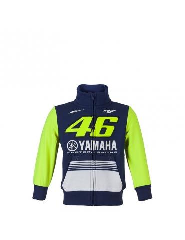 Veste zip enfant racing Yamaha VR46 ROSSI