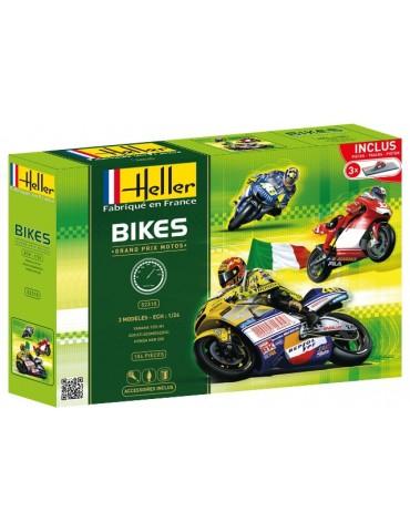 Maquette Rossi Honda NSR 500 2001, Yamaha M1 2005, Bayllis Ducati 2003