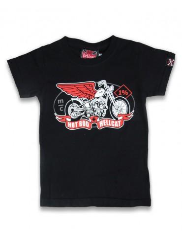 Tee-Shirt Enfant Hotrod Hellcat MC - Moto Ailée