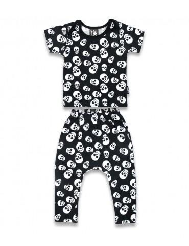 Pyjama Six Bunnies Polka Skulls tête de mort