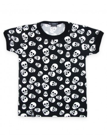 Tee-Shirt enfant Six Bunnies Polka Skulls
