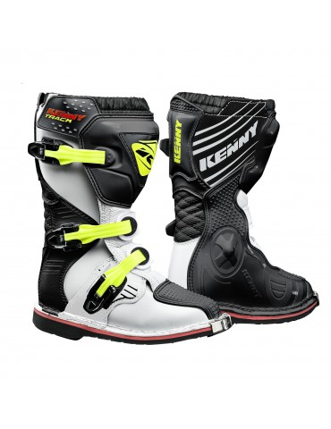 Bottes Tout Terrain Track Junior - Kenny - Black Neon Yellow