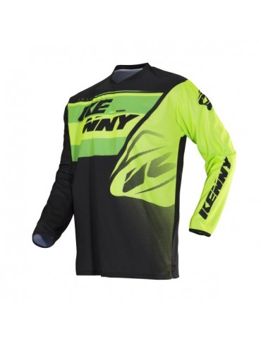 Maillot Tout Terrain Track Kid Lime - Kenny
