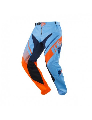 Pantalon Tout Terrain Track Kid Blue Orange - Kenny