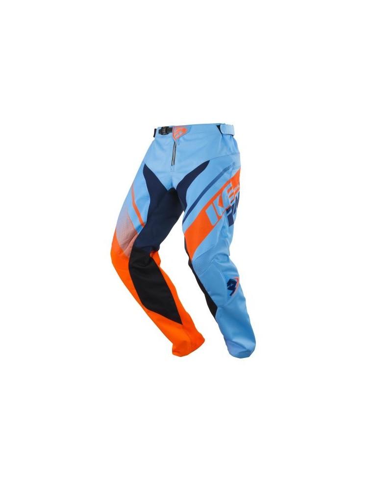 Pantalon Tout Terrain Track Kid Blue Orange - Kenny