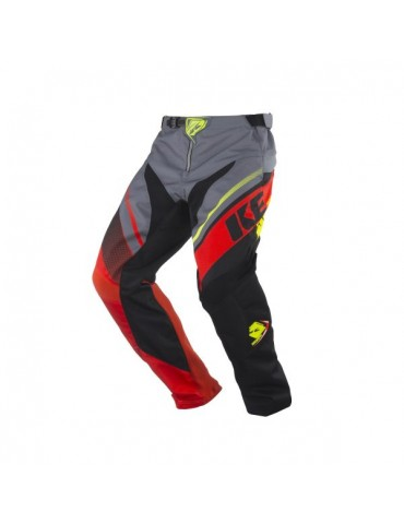 Pantalon Tout Terrain Track Kid Grey Orange - Kenny