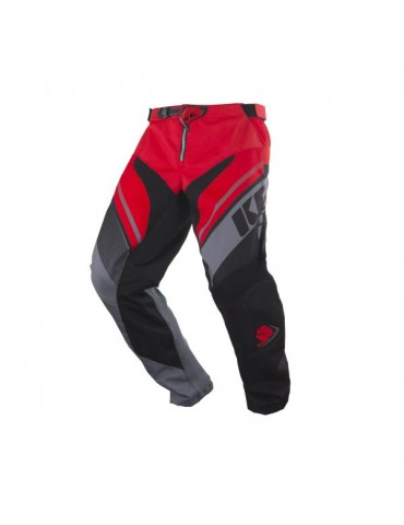 Pantalon Tout Terrain Track Grey Red - Kenny