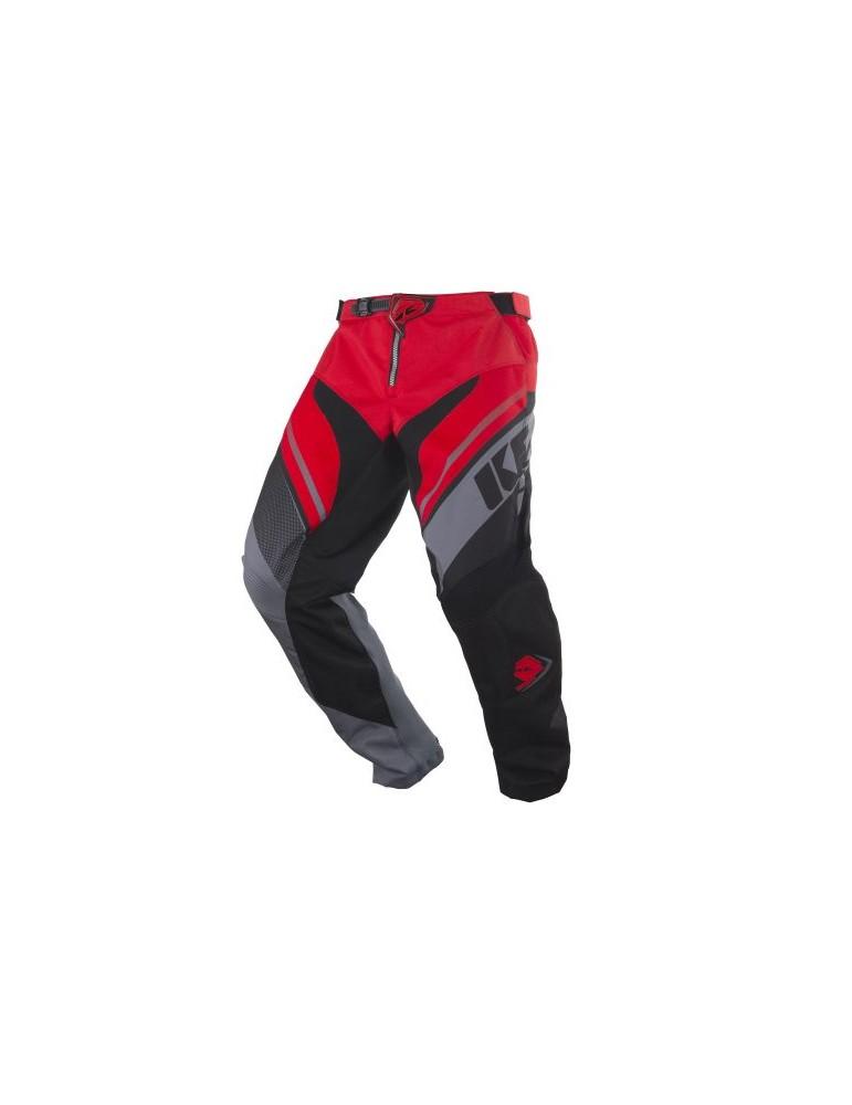 Pantalon Tout Terrain Track Grey Red - Kenny