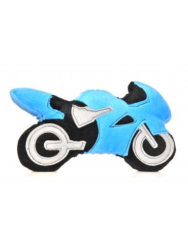 Peluche / Doudou Motopeluche Bleue