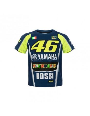 Tee-shirt Yamaha Racing Valentino ROSSI