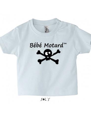 Tee-Shirt Bébé Motard Skullz Mosquitos