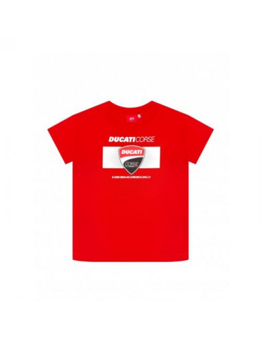 T-shirt enfant Ducati Corse face avant