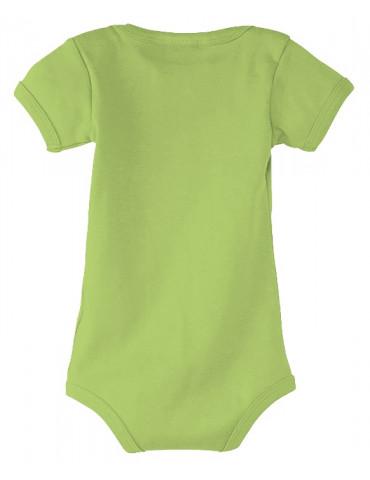Body Bébé Motard - vue de dos - couleur vert