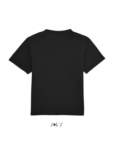 Tee-shirt Bébé Motard Mosquitos - vue de dos - couleur noir