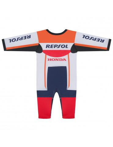 Pyjama Replica Racing Repsol vue de dos