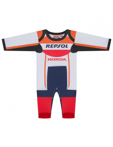 Pyjama Replica Racing Repsol vue de face