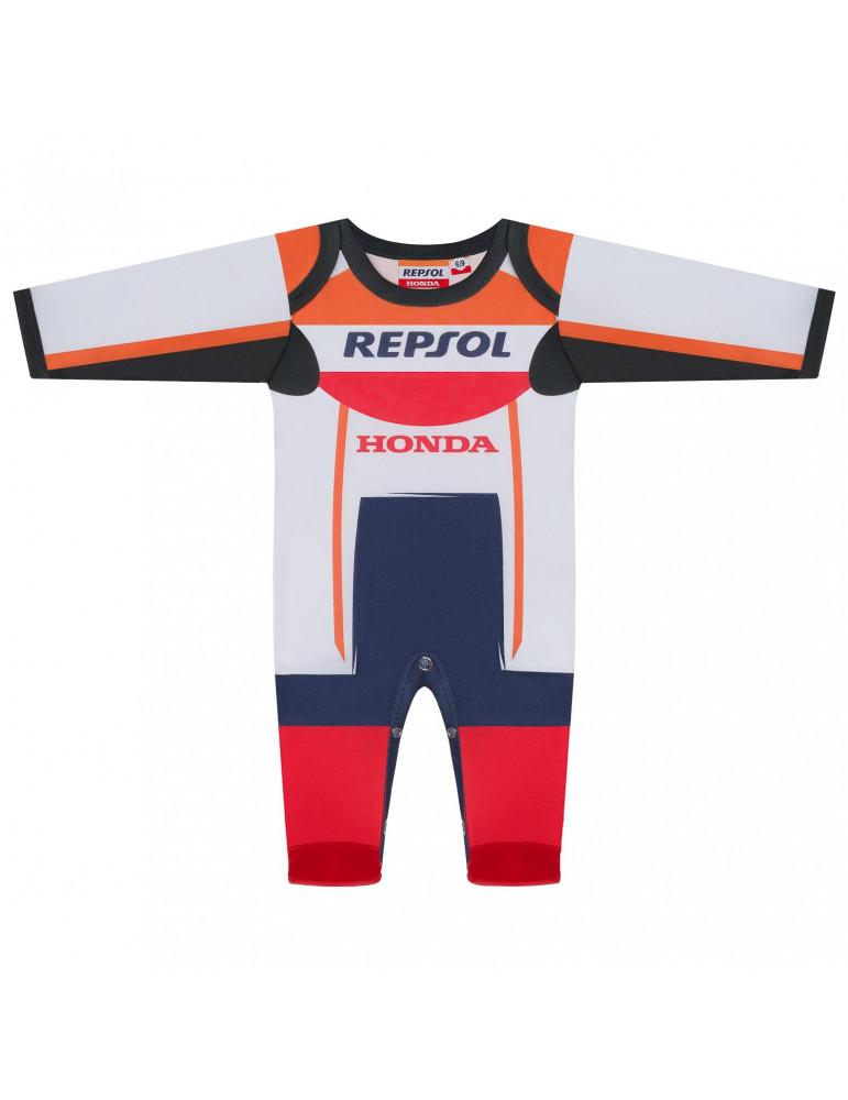 Pyjama Replica Racing Repsol vue de face