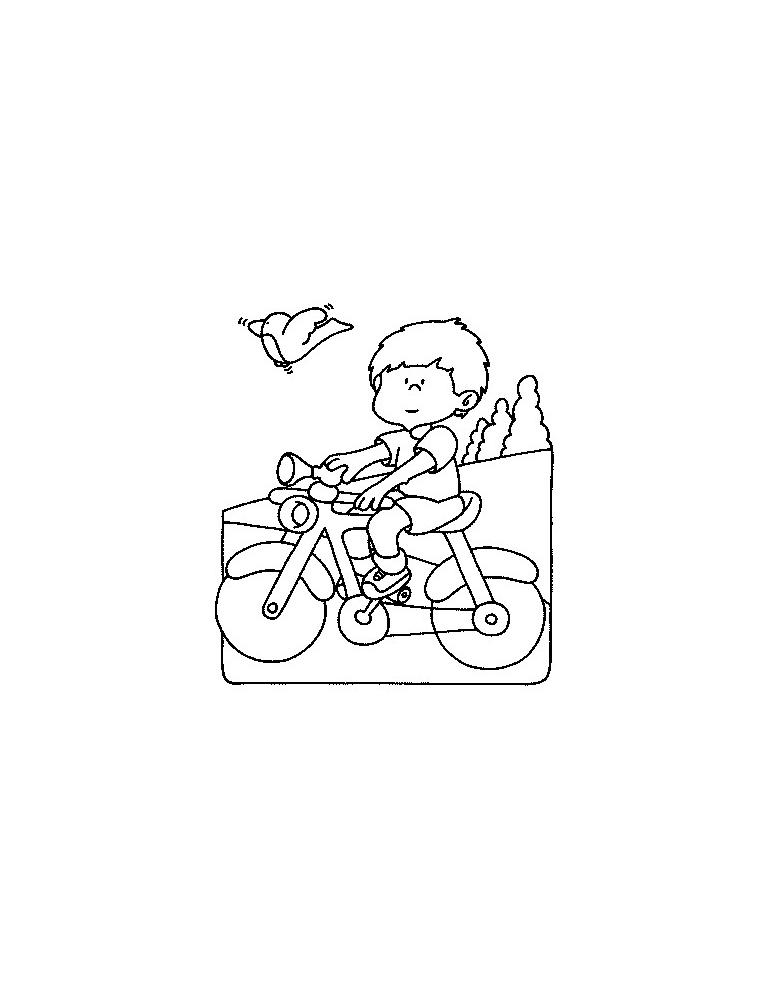 Coloriage Moto 11