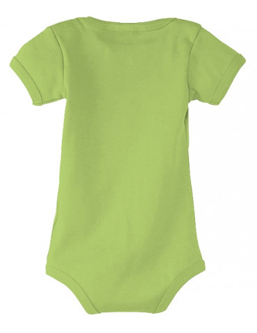 Body Bébé Motard Born to Ride - Vue de dos vert