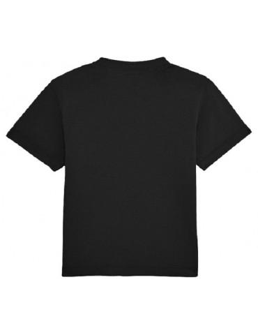 Tee Shirt Bébé Motard Mosquitos -  Born to Ride - vue de dos - noir