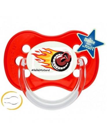 Tétine Logo Bébé Motard