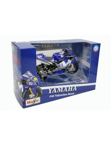 Replica Yamaha YZR-M1 VR46 au 1/18 - Vue de la boite