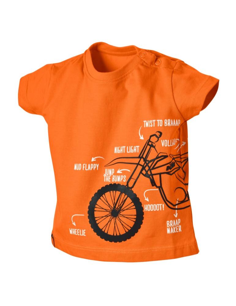Tee-Shirt Radical Baby Tee - KTM - Vue de face