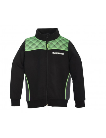 Sweat Zippé Sports Enfant - Kawasaki 2020 - Vue de face