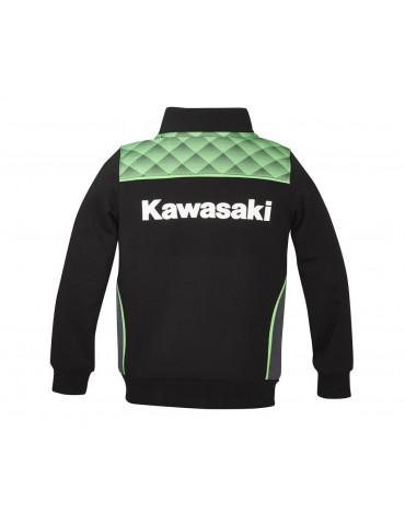 Sweat Zippé Sports Enfant - Kawasaki 2020 - Vue de dos