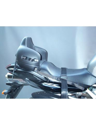 Stamatakis siège enfant pour moto ou scooter - Montage sur Yamaha FZ6