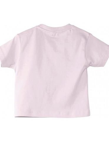 Tee-Shirt bébé Mosquitos BébéMotard - Motarde comme Maman - dos rose pale