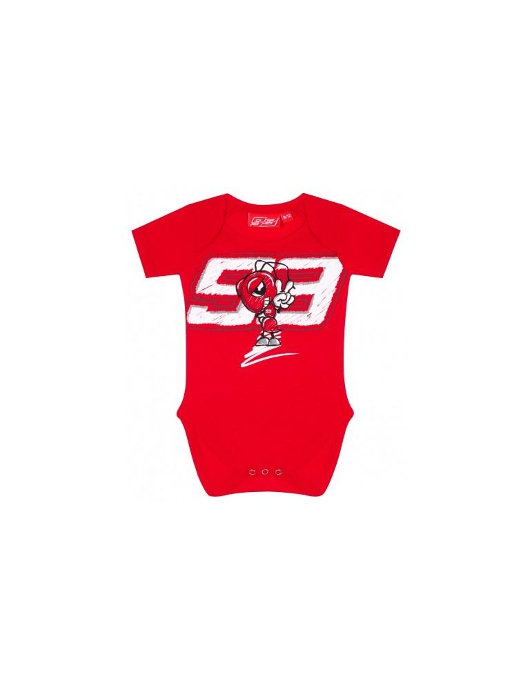 Body Bébé Red Ant - Marc Marquez - vue de face - 2083003