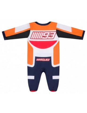 Pyjama Replica Racing Marc Marquez -vue de dos