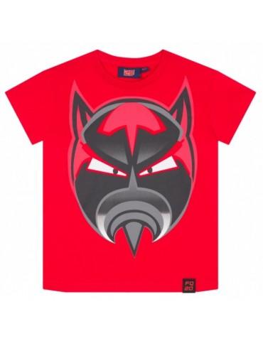 Tshirt Enfant Rouge - Fabio Quartararo - FQ20 - vue de face