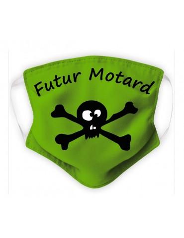 Masque Enfant en Tissu Lavable - Pirate - green
