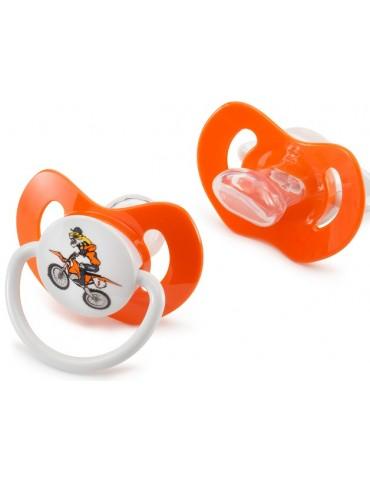 Tétine KTM Dummy Tiger pour bébé - Bébé Motard - moto