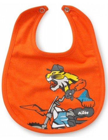 Bavoir Bébé Baby Radical Bib - KTM - moto - bébé motard