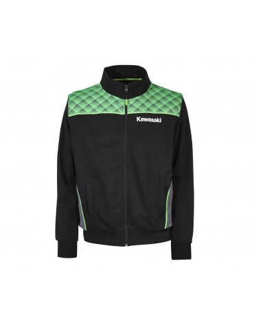 Sweat Zippé Sports Adulte - Kawasaki 2020 - Vue de face - 166SPM042