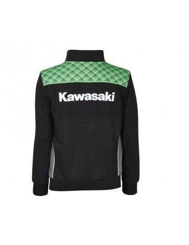 Sweat Zippé Sports Adulte - Kawasaki 2020 - Vue de dos - 166SPM042