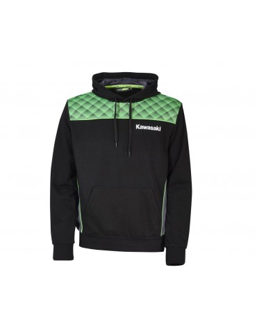 Sweat à Capuche Sports Adulte - Kawasaki 2020 - vue de face - 166SPM043x