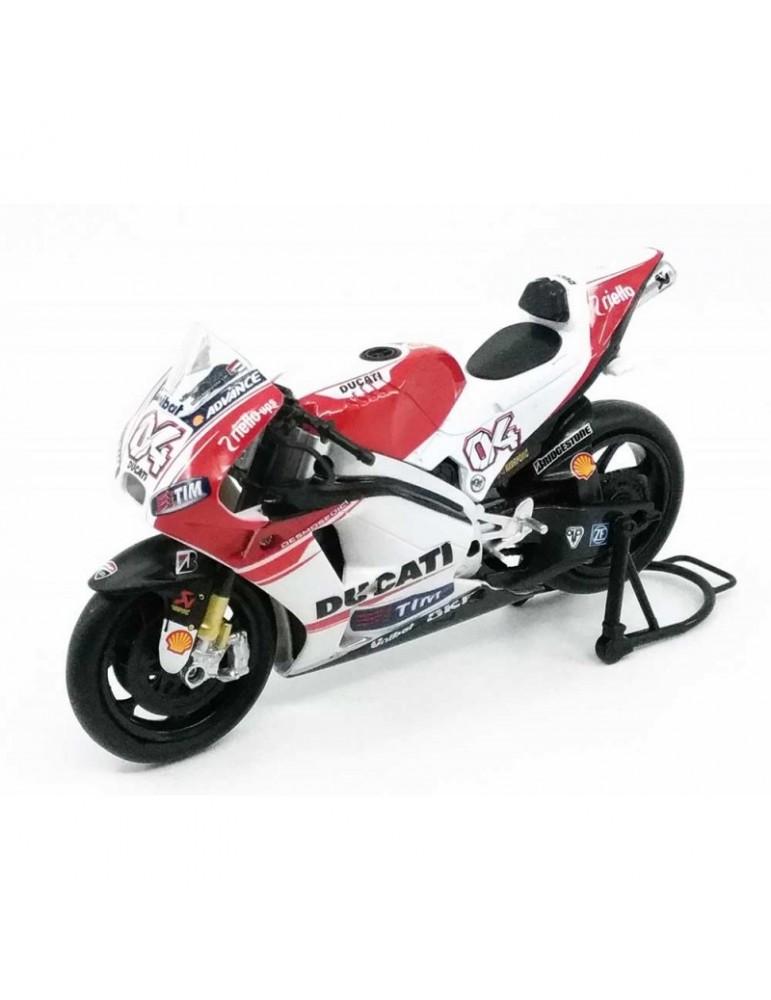 Modèle réduit Ducati Desmosedici MotoGP Dovizioso - vue d'ensemble