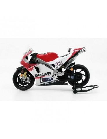 Modèle réduit Ducati Desmosedici MotoGP Dovizioso - vue gauche