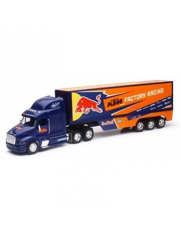 Modèle Réduit Camion Peterbilt 387 Team KTM Red Bull